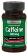 Caffeine 200 mg with Green Tea Extract, 120 Tabs