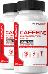 Cafeïne met groene thee 100 Tabletten
