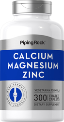 Calcium Magnesium Zink  (Cal 1000mg/Mag 400mg/Zn 15mg) (per serving) 300 Überzogene Filmtabletten