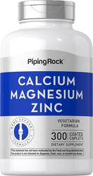 Calcio, magnesio y cinc   (Cal 1000mg/Mag 400mg/Zn 15mg) (per serving) 300 Comprimidos recubiertos