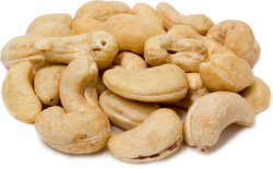 Organic  Cashews Raw Whole Unsalted 1 lb Bag