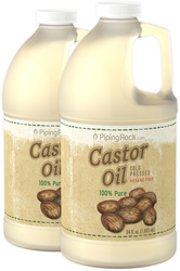 Castor Oil without Hexane 64 fl oz (1.89 L) Bottle