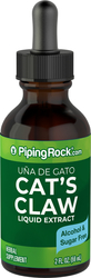 Cat's Claw Liquid Extract (Una De Gato) Alcohol Free 2 fl oz