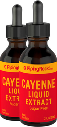 Cayenne Liquid Extract 2 fl oz (59mL) x 2 Bottles