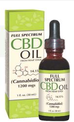 CBD-olie 1 oz (30 mL) Fles