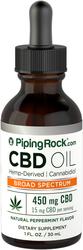 CBD-olie 1 fl oz (30 mL) Druppelfles