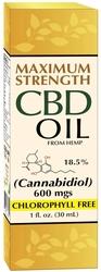 CBD Oil 1 oz (30 mL) 酒瓶