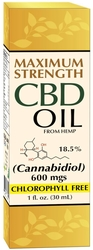 CBD-Öl (biologische Vielfalt) 1 oz (30 mL) Flasche