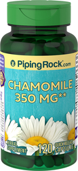 Buy Chamomile 350 mg Herbal Supplement 2 Bottles x 120 Capsules