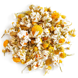 Chamomile Flowers Whole (Organic), 1 lb