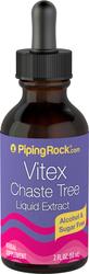 Mönchspfeffer (Vitex)-Flüssigextrakt, alkoholfrei 2 fl oz (59 mL) Tropfflasche