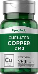 Cuivre chélaté(chélate d'acide aminé) 250 Comprimés