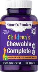 Children's Chewable Complete 60 錠剤