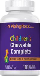Trattamento giornaliero completo per bambini 100 Compresse masticabili