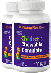 Complejo para niños diario 100 Tabletas masticables