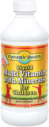 Multivitamine e minerali liquidi per bambini 8 fl oz (237 mL) Bottiglia