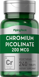 Picolinato de cromo  240 Tabletas