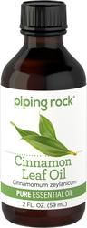 Óleo essencial puro de folhas de canela (GC/MS Testado) 2 fl oz (59 mL) Frasco