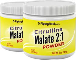 Citrulline Malate 2:1 Powder 5 oz (142 g) x 2 Bottles