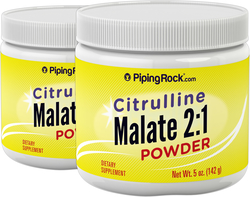 Citrulline Malate 2:1 Powder 5 oz (142 g) x 2 Bottles
