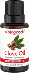 100% Pure Clove Bud Essential Oil 1/2 oz (15 ml) Dropper Bottle
