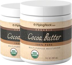 Kakaobutter, 100 % rein (Bio) 7 oz (207 mL) Glas