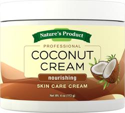 Crema di bellezza alla noce di cocco 4 oz (113 g) Vaso