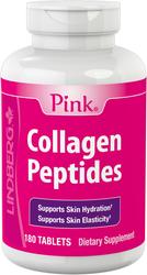 Collagen Peptides (Pink), 180 Tablets
