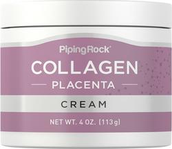 Creme de noite de colagénio e placenta 4 oz (113 g) Boião