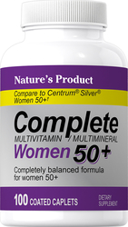 Complete Women's 50+ Multivitamin & Multimineral 100 包衣片剂
