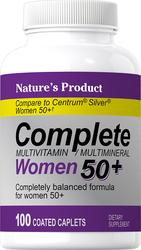 Complete Women's 50+ Multivitamin & Multimineral 100 Petits comprimés enrobés