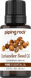 100% Pure Coriander Seed Essential Oil 1/2 oz (15 ml) Dropper Bottle