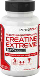 Kreatin-Monohydrat  120 Kapseln mit schneller Freisetzung