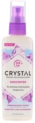 Spray desodorizante Crystal Body 4 fl oz (118 mL) Frasco