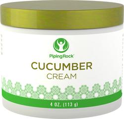 Crème nettoyante au concombre 4 oz (113 g) Bocal