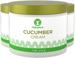Crema detergente al cetriolo 4 oz (113 g) Vaso