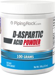 Buy D-Aspartic Acid Powder 100 Grams (3.5 oz) Jar