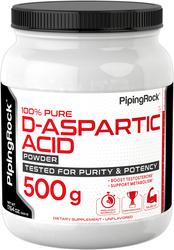 D-Aspartic Acid Powder 500 g, 17.64 oz