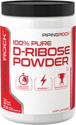 Pó de D-ribose 100% Puro 10.6 oz (300 g) Frasco