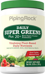 Polvo Super Greens diario (Orgánico) 9.88 oz (280 g) Botella/Frasco