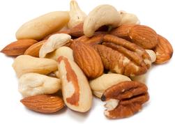 Deluxe blandede nødder - rå 1 lb (454 g) Pose