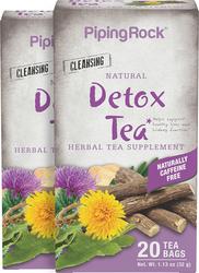 Té de hierbas para eliminar toxinas 20 Bolsas de té