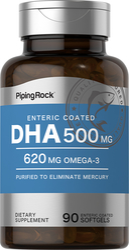 DHA con recubrimiento entérico 90 Cápsulas blandas de liberación rápida