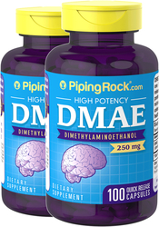 DMAE 250mg 2 Bottles x 100 Capsules Benefits