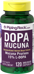 Buy Dopa Mucuna Pruriens (Velvet Beans) Extract 2 x 350 mg