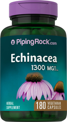 Echinacea 1300 mg (per serving), 180 Capsules