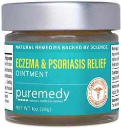 Baume de soulagement pour eczéma et psoriasis 1 fl oz (28 g) Bocal
