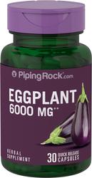 Eggplant Extract6000mg 30  Capsules