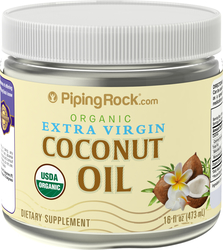 Organic Extra Virgin Coconut Oil (Solid) 16 oz