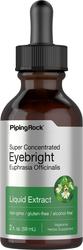 Extrait liquide d'Euphraise sans alcool 2 fl oz (59 mL) Compte-gouttes en verre